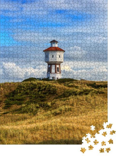"""Puzzle 1000 Teile """"Leuchtturm Langeoog"""""""