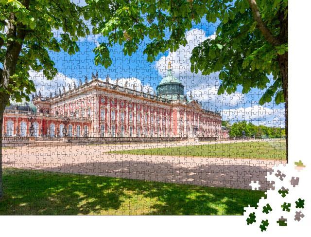 """Puzzle 1000 Teile """"Neues Palais, Schloss Sanssouci, Potsdam, Deutschland"""""""