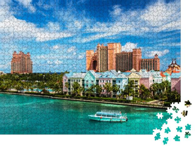 "Puzzle 1000 Teile ""Nassau im Sommer, Bahamas, Karibik"""