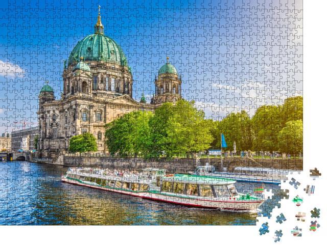 """Puzzle 1000 Teile """"Schöner Blick auf den Berliner Dom"""""""
