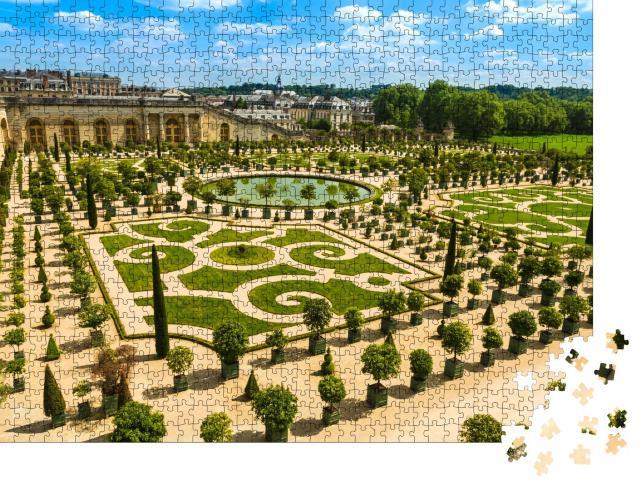 """Puzzle 1000 Teile """"Die Gärten von Versailles, Frankreich"""""""