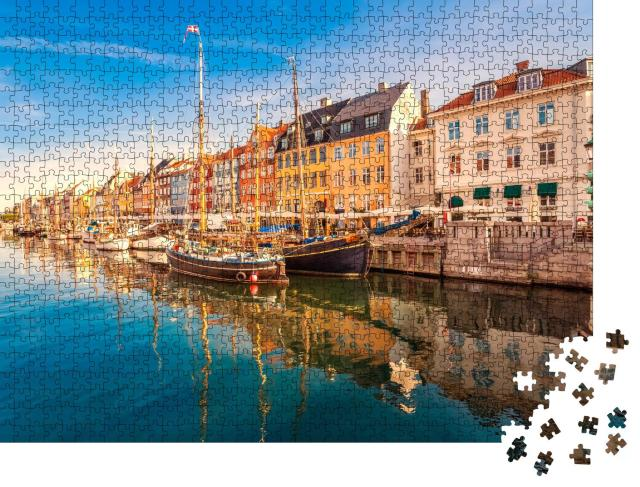 """Puzzle 1000 Teile """"Nyhavn, Kopenhagen"""""""