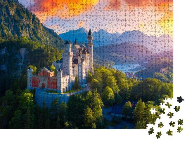 """Puzzle 1000 Teile """"Schloss Neuschwanstein"""""""