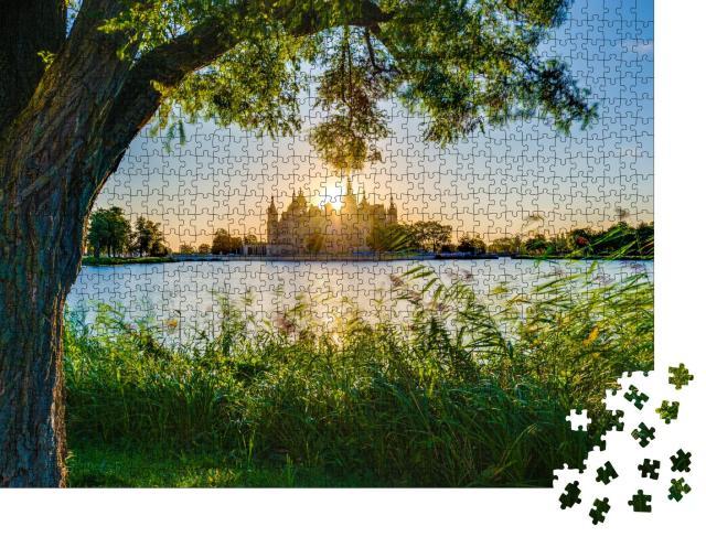 """Puzzle 1000 Teile """"Schweriner Schloss, Landeshauptstadt von Mecklenburg-Vorpommern"""""""