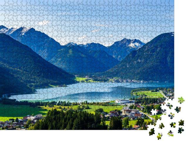 """Puzzle 1000 Teile """"Idyllische Landschaft am Achensee, Österreich"""""""