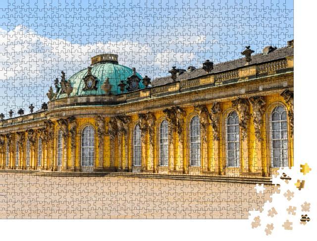"""Puzzle 1000 Teile """"Schloss Sanssouci, Sommerresidenz Friedrichs des Großen, Potsdam"""""""