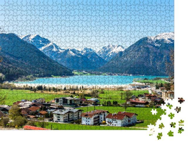 """Puzzle 1000 Teile """"Pertisau am Achensee, Österreich"""""""