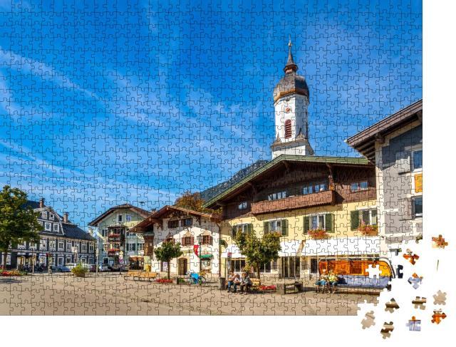 """Puzzle 1000 Teile """"Wunderschönes Garmisch-Partenkirchen"""""""