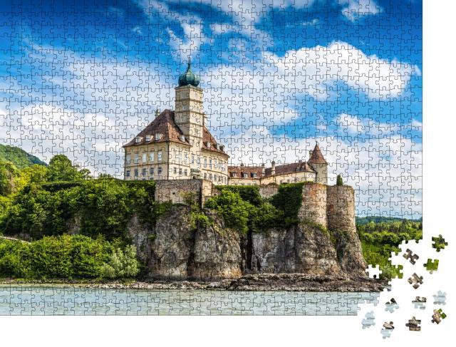 """Puzzle 1000 Teile """"Schloss Schonbühl, Donau, Niederösterreich"""""""