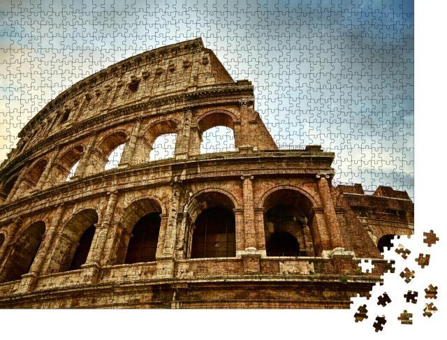 """Puzzle 1000 Teile """"Kolosseum, Rom, Italien"""""""