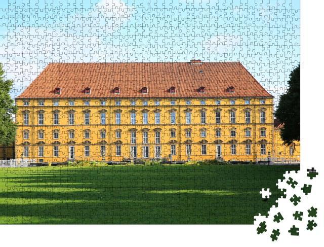 """Puzzle 1000 Teile """"Historisches Schloss Osnabrück in Niedersachsen, Deutschland"""""""