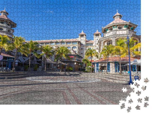 """Puzzle 1000 Teile """"Port Louis, Waterfront Center in der Hauptstadt von Mauritius"""""""