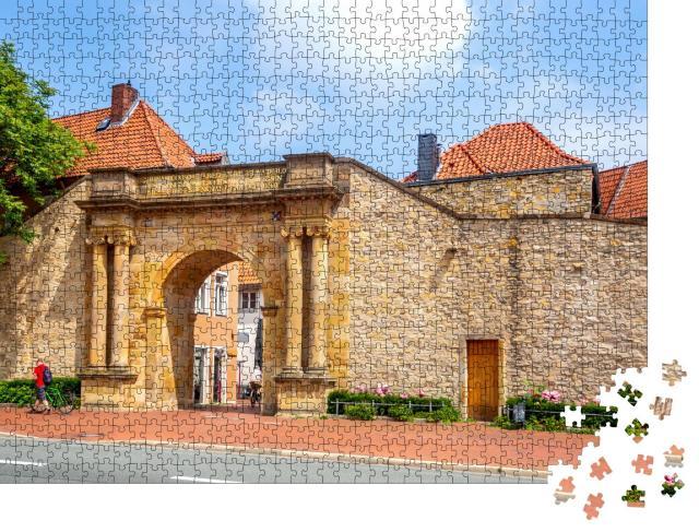 "Puzzle 1000 Teile ""Heger Tor, Osnabrück, Deutschland"""