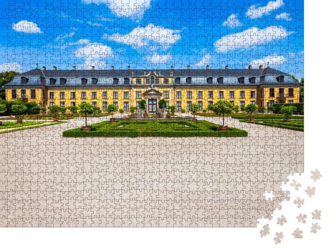 """Puzzle 1000 Teile """"Galerie Herrenhausen in den Herrenhäuser Gärten in Hannover, Deutschland"""""""