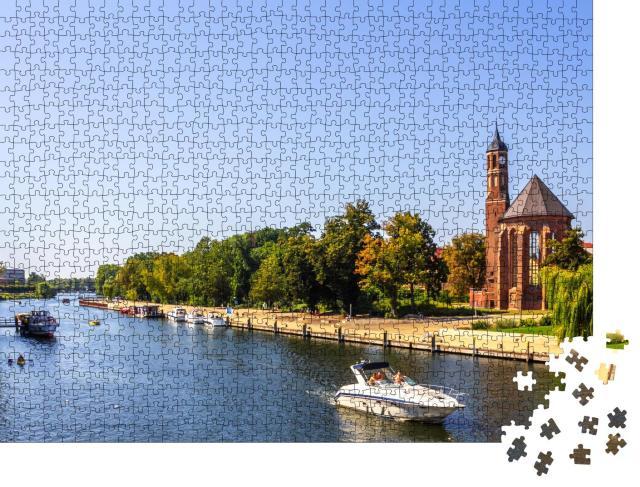 """Puzzle 1000 Teile """"Historische Stadt Brandenburg an der Havel, Deutschland"""""""