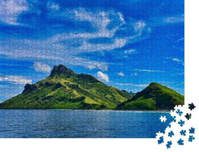 """Puzzle 1000 Teile """"Blick auf die tropischen Inseln der Fidschi-Inseln"""""""