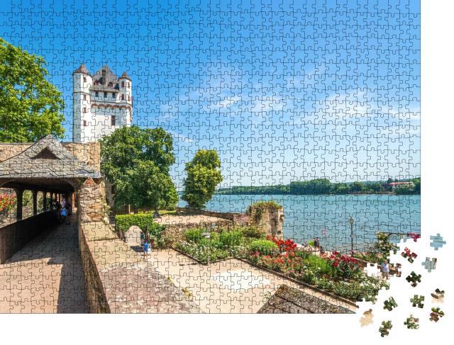 """Puzzle 1000 Teile """"Burg Eltville am Rhein, Deutschland"""""""