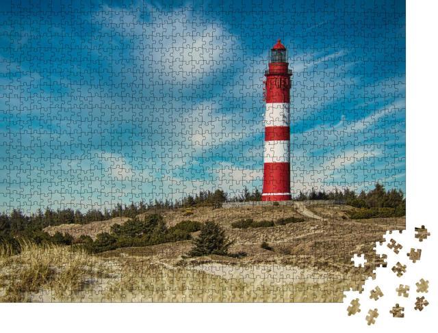 """Puzzle 1000 Teile """"Der Amrumer Leuchtturm"""""""