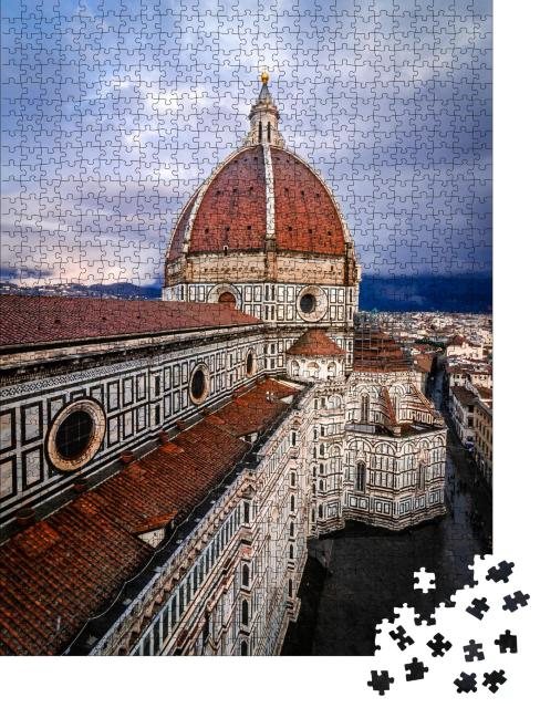 """Puzzle 1000 Teile """"Florentiner Dom Santa Maria del Fiore, Italien"""""""