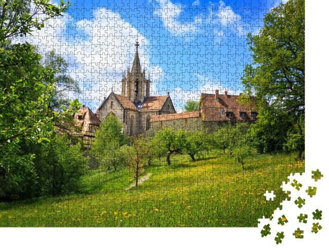 """Puzzle 1000 Teile """"Malerisches Dorf Bebenhausen in der Nähe von Tübingen"""""""