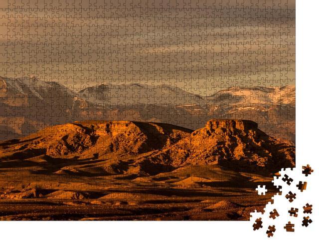 """Puzzle 1000 Teile """"Das Atlasgebirge"""""""
