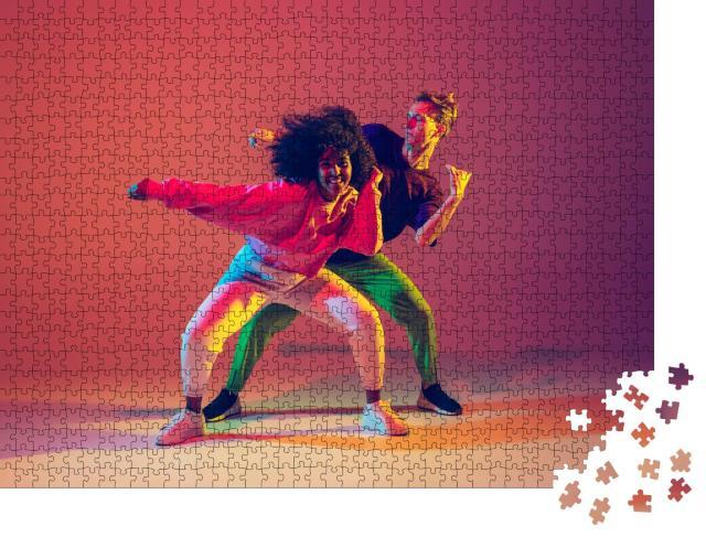 """Puzzle 1000 Teile """"Power beim Tanzen"""""""