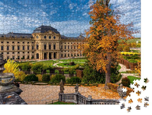 """Puzzle 1000 Teile """"Residenz Würzburg, Deutschland"""""""