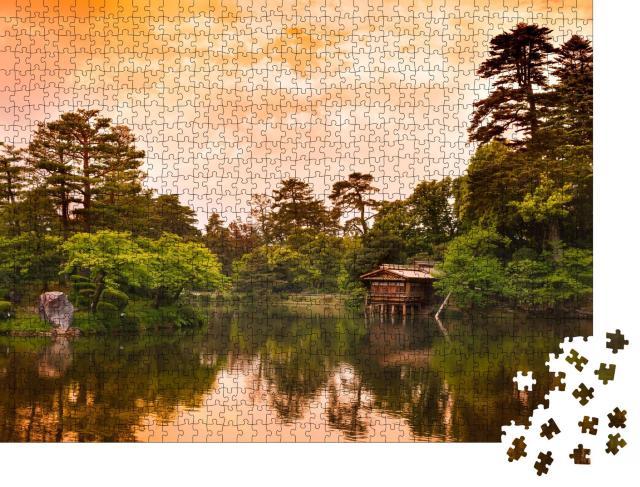 """Puzzle 1000 Teile """"Kenrokuen-Garten, Kanazawa, Japan"""""""