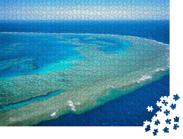 """Puzzle 1000 Teile """"Atemberaubendes Great Barrier Reef, Australien"""""""
