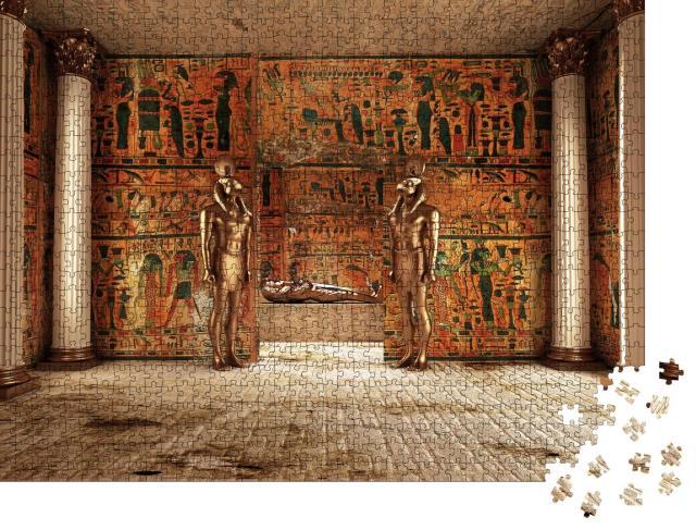 "Puzzle 1000 Teile ""Das Pharaonengrab"""