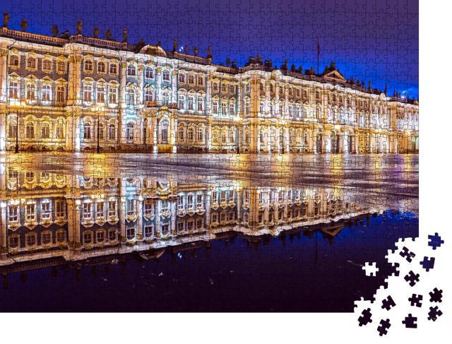 """Puzzle 1000 Teile """"Eremitage am Schlossplatz, St. Petersburg"""""""