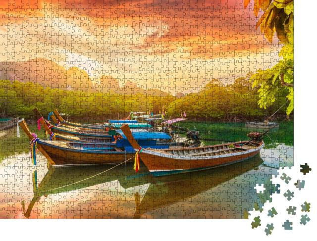 """Puzzle 1000 Teile """"Phi Phi Insel bei Sonnenuntergang, Thailand"""""""