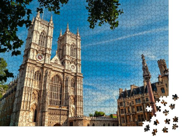 """Puzzle 1000 Teile """"Westminster Abbey, London, England"""""""
