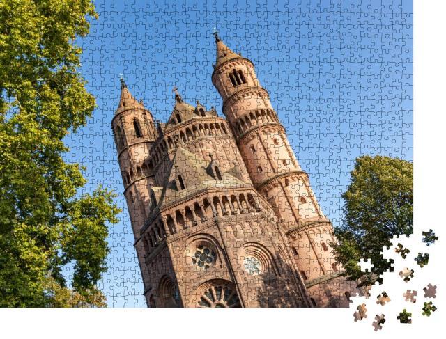 """Puzzle 1000 Teile """"Dom zu Worms, Deutschland"""""""
