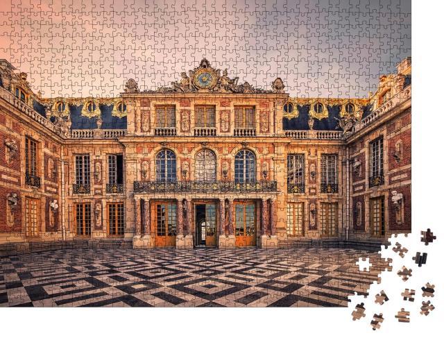 """Puzzle 1000 Teile """"Schlossfassade von Versailles bei Paris"""""""