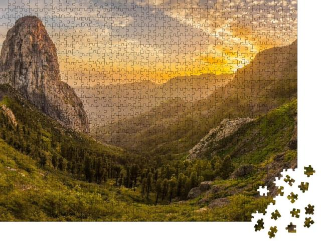"""Puzzle 1000 Teile """"Roque Agando"""""""