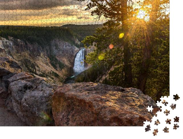 """Puzzle 1000 Teile """"Yellowstone National Park, USA"""""""