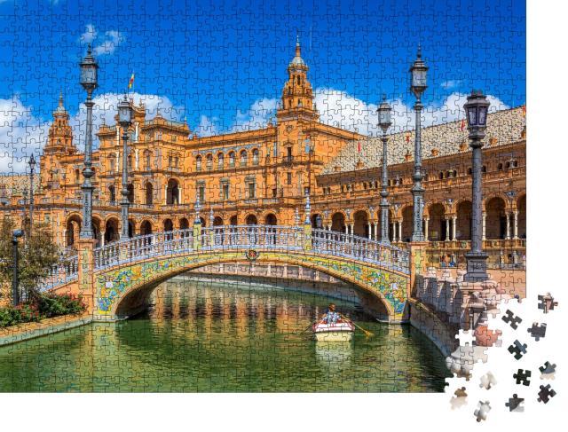"""Puzzle 1000 Teile """"Sevilla am Spanischen Platz"""""""