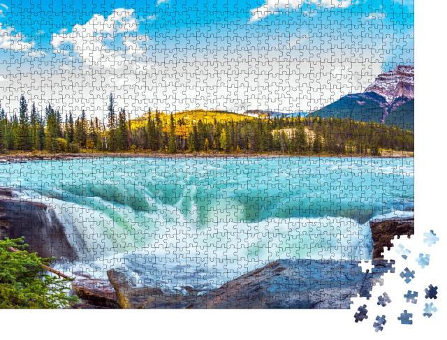 """Puzzle 1000 Teile """"Jasper Park, Kanada"""""""