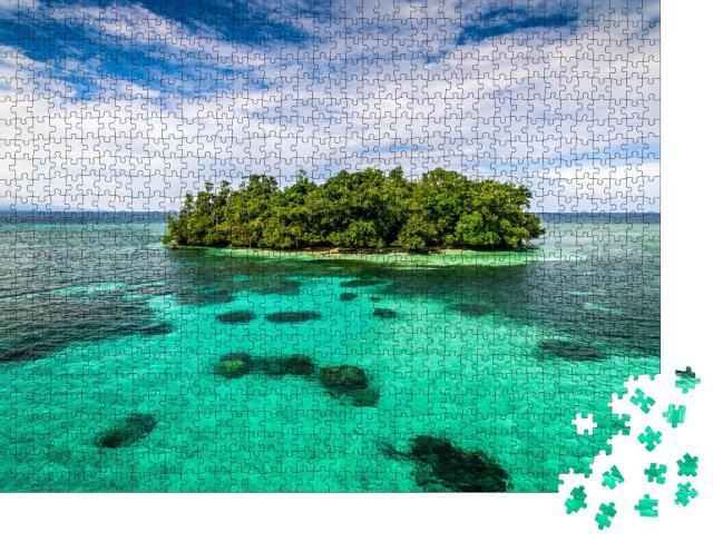 """Puzzle 1000 Teile """"Tami Insel Papua-Neuguinea"""""""