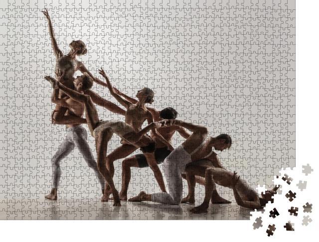 """Puzzle 1000 Teile """"Zeitgenössisches Kunstballett, Studioaufnahme"""""""