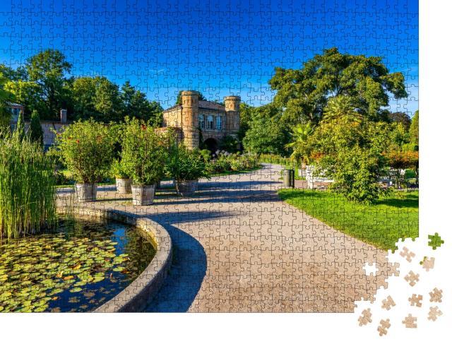 """Puzzle 1000 Teile """"Botanischer Garten in Karlsruhe, Deutschland"""""""