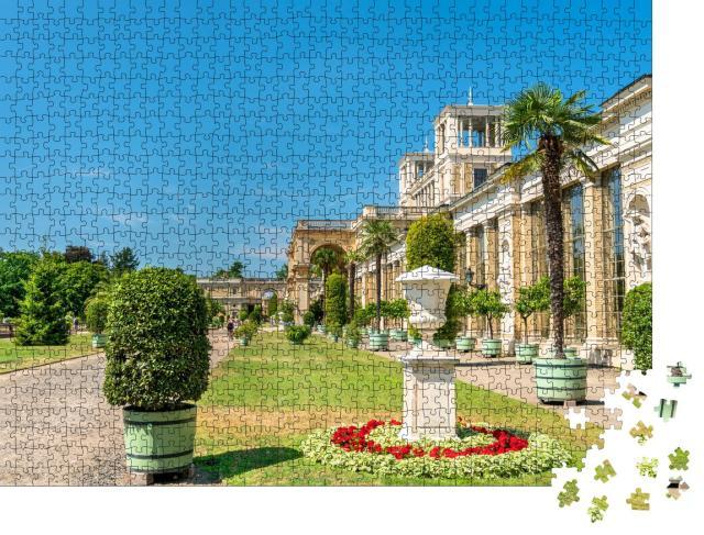 """Puzzle 1000 Teile """"Orangerieschloss, Park Sanssouci, Potsdam, Brandenburg, Deutschland"""""""