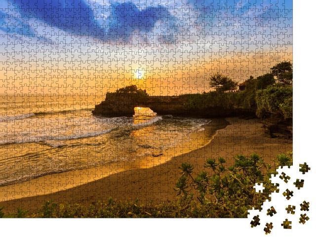 """Puzzle 1000 Teile """"Tanah Lot, Bali, Indonesien"""""""