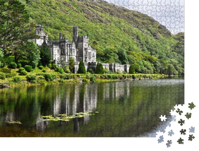"""Puzzle 1000 Teile """"Kylemore Abbey, Galway, Irland"""""""
