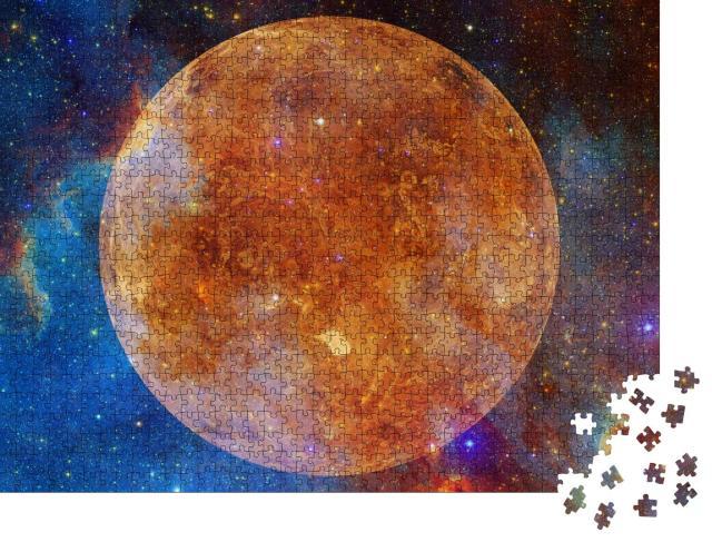"""Puzzle 1000 Teile """"Bild des Planeten Venus von der NASA zur Verfügung gestellt"""""""