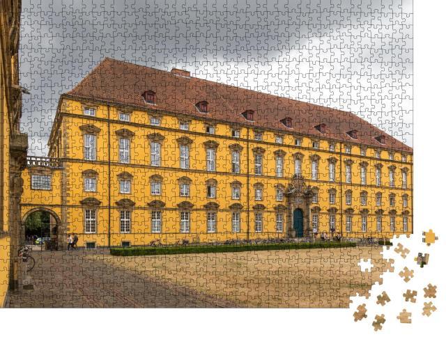 """Puzzle 1000 Teile """"Historisches Schloss von Osnabrück, Deutschland"""""""