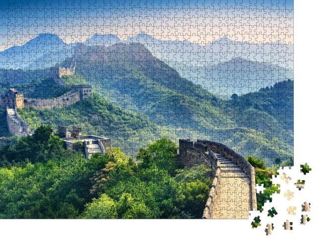 """Puzzle 1000 Teile """"Chinesische Mauer"""""""