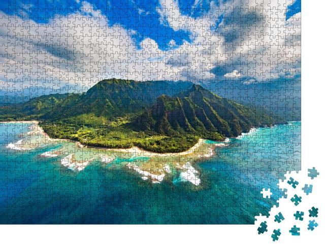 """Puzzle 1000 Teile """"Na Pali Küste, Kauai"""""""