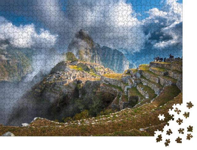 """Puzzle 1000 Teile """"Machu Picchu, UNESCO-Weltkulturerbe"""""""